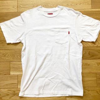Supreme - Supreme ポケットTシャツ メンズUS Sサイズ ステッカー付