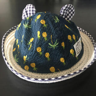 ミキハウス(mikihouse)のmikihouse 帽子44cm(帽子)