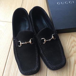 グッチ(Gucci)のGUCCI ビットローフアー 37C(ローファー/革靴)