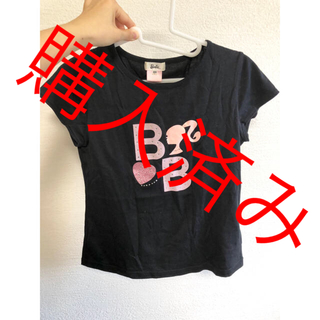 バービー(Barbie)の子供服 Barbie Tシャツ💗(Tシャツ/カットソー)