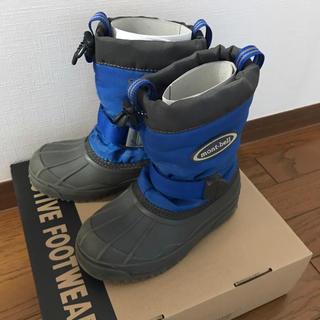 モンベル(mont bell)のmont-bell スノーブーツ 青色 19センチ(ブーツ)
