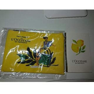 ロクシタン(L'OCCITANE)の新品未使用☆L'OCCITANEポーチ♪(ポーチ)