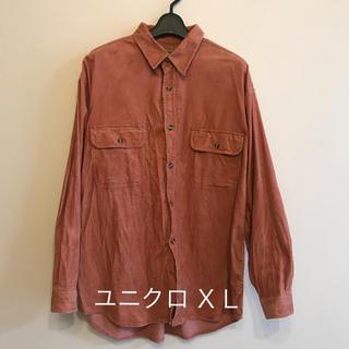 ユニクロ(UNIQLO)のユニクロ メンズ コーデュロイシャツ(シャツ)