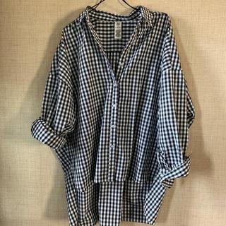 Lbc - LBC オーバーサイズチェックシャツ