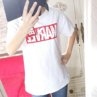 マーベル(MARVEL)のタグ付MARVELシャツ (Tシャツ(半袖/袖なし))