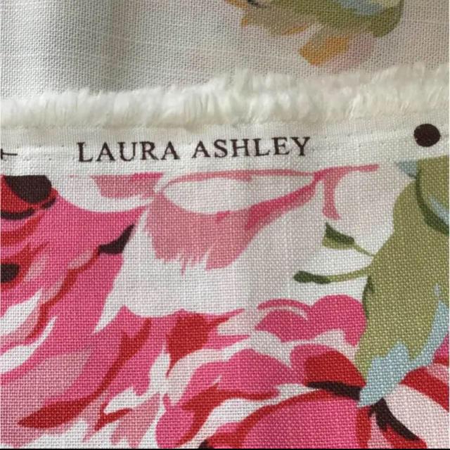LAURA ASHLEY(ローラアシュレイ)のローラアシュレイ クチュールローズピオニー生地 ハンドメイドの素材/材料(生地/糸)の商品写真