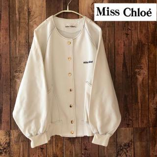 クロエ(Chloe)のクロエ ジャケット ミスクロエ miss chloe レディース 白 オシャレ(ノーカラージャケット)
