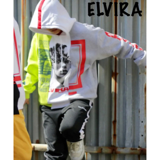 エルヴィア(ELVIA)のELVIRA  MULTI REMAKE HOODY  (M)(パーカー)