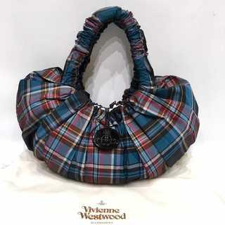 Vivienne Westwood - 極美品 ヴィヴィアンウエストウッド チェック柄 ビーンズ バッグ