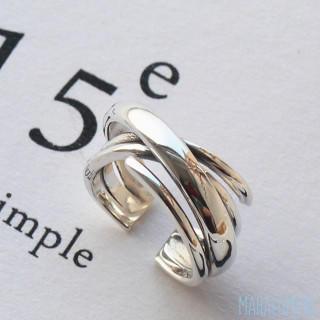 ヴィンテージ クロスデザイン リング アングリッド トゥデイフル お好きな方に(リング(指輪))