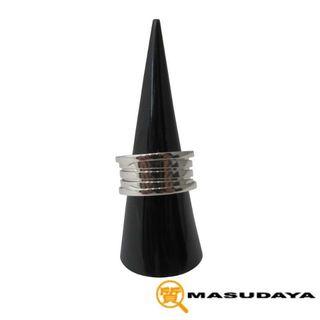 ブルガリ(BVLGARI)のブルガリビーゼロワン リングK18WG11.8グラム【超美品】(リング(指輪))
