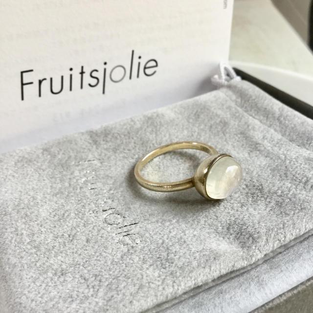 H.P.FRANCE(アッシュペーフランス)のFruitsjolie(フリュイジョリ)レインボームーンストーン リング レディースのアクセサリー(リング(指輪))の商品写真