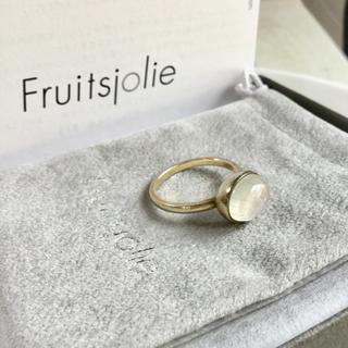 H.P.FRANCE - Fruitsjolie(フリュイジョリ)レインボームーンストーン リング