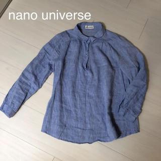 ナノユニバース(nano・universe)のナノユニバース☆キレイ色シャツ 美品(シャツ/ブラウス(長袖/七分))