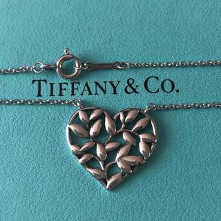 Tiffany & Co. - ティファニー ハートリーフ ネックレス