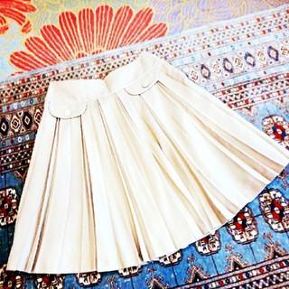 ハニーズ(HONEYS)のキャメル ベージュ 難有り 膝丈スカート(ひざ丈スカート)