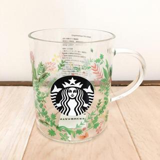 Starbucks Coffee - スターバックス 耐熱グラスマググリーン 355ml