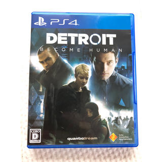 PlayStation4 - Detroit: Become Human 通常版