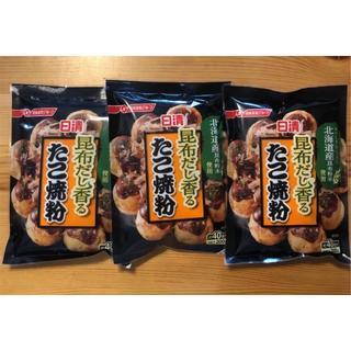 ニッシンセイフン(日清製粉)の日清 昆布だし香る たこ焼き粉(米/穀物)