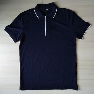 UNIQLO - ユニクロ ポロシャツ 半袖 ネイビー 紺