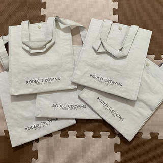 ロデオクラウンズワイドボウル(RODEO CROWNS WIDE BOWL)のロデオクラウンズ ショッパー ショップバッグ 5枚(ショップ袋)