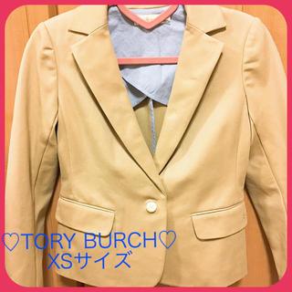 トリーバーチ(Tory Burch)のTory Burch トリーバーチ テーラード ジャケット♡ ベージュ XS♡(テーラードジャケット)
