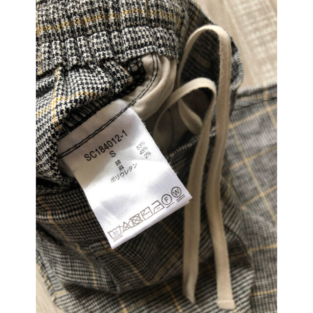 STUDIO CLIP(スタディオクリップ)のstudio CLIP 綿麻 パンツ Sサイズ レディースのパンツ(カジュアルパンツ)の商品写真