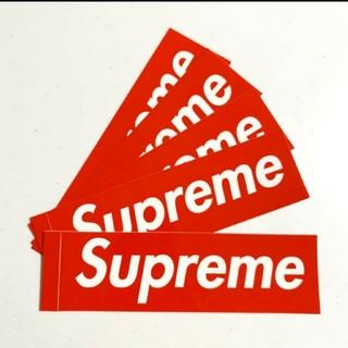 シュプリーム(Supreme)の【商品名】 Supreme Box Logo ステッカーシール レッド5枚セット(その他)