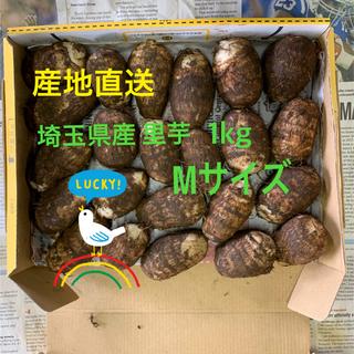 ★送料込★  初物☆埼玉県産 里芋 Mサイズ 1kg(野菜)