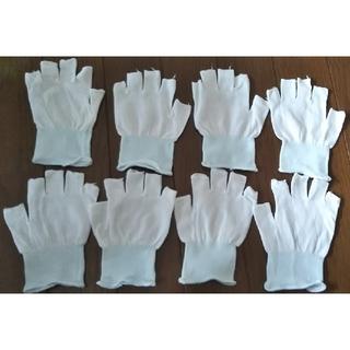 指切りインナー手袋 4組 8枚 ショーワグローブインナー(日用品/生活雑貨)