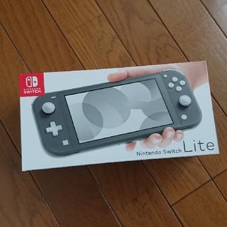 Nintendo Switch - 新品 ニンテンドースイッチライト グレー