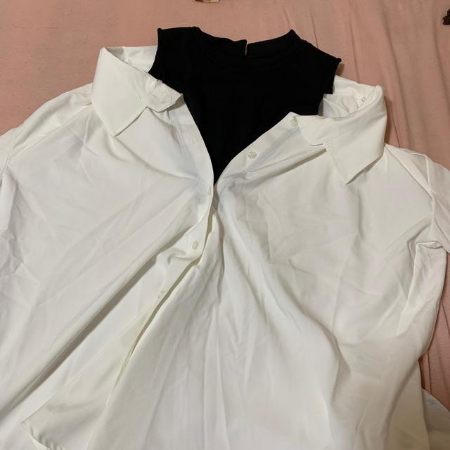 GRL(グレイル)のGRL ハイネック オフショルシャツ レディースのトップス(シャツ/ブラウス(半袖/袖なし))の商品写真