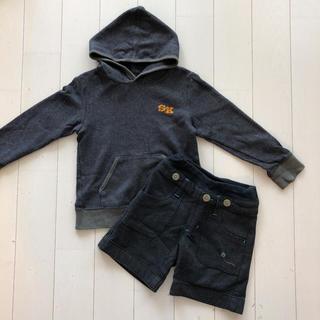 シップスキッズ(SHIPS KIDS)のSHIPS スウェットプルパーカー 120(Tシャツ/カットソー)