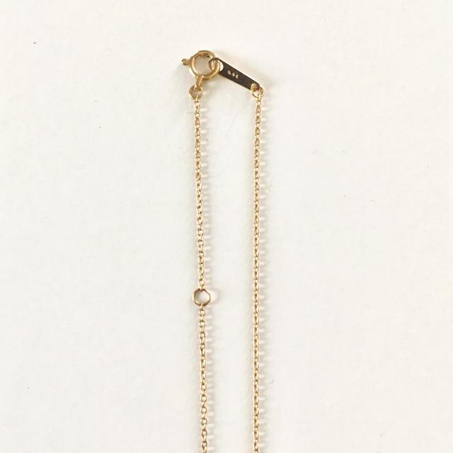 Demi-Luxe BEAMS(デミルクスビームス)のDemi-Luxe BEAMS / K10×ダイヤ 馬蹄ネックレス レディースのアクセサリー(ネックレス)の商品写真