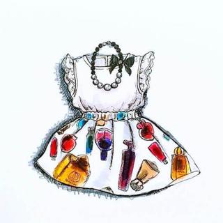 ニジュウサンク(23区)のCherissable フラワーロングスカート 17000円最終価格(ロングスカート)