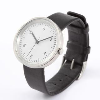 ムジルシリョウヒン(MUJI (無印良品))の27日〆切 新品 定価2万円程 無印 腕時計 Wall Clock Silver(腕時計(アナログ))