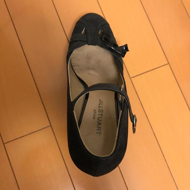 JILLSTUART(ジルスチュアート)の【JILL STUART】黒 パンプス レディースの靴/シューズ(ハイヒール/パンプス)の商品写真