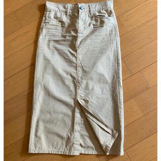 ギャップ(GAP)のGap  薄手コットン100% ロングスカート(ロングスカート)