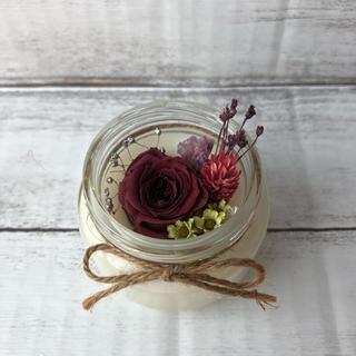 アロマワックスカップ❋dark red rose(アロマ/キャンドル)