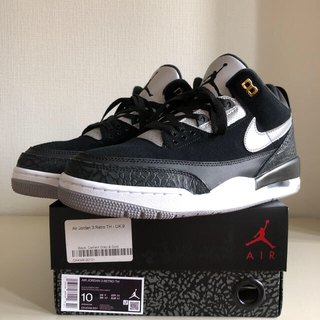 ナイキ(NIKE)のNIKE AIR JORDAN 3 TINKER BLACK CEMENT(スニーカー)