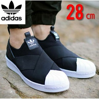 adidas - アディダスオリジナルス スーパースター スリッポン ブラック s81337