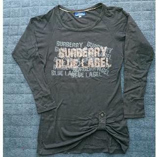 バーバリーブルーレーベル(BURBERRY BLUE LABEL)の値下げ💴BURBERRY◇ロンT(Tシャツ(長袖/七分))