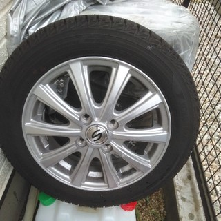 155/65R14スタッドレスタイヤ&ホイール4本セット(タイヤ・ホイールセット)