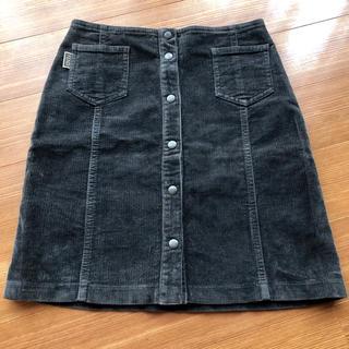 フェンディ(FENDI)のお値下げ  フェンディ   FENDI  スカート  コーデュロイ  9号(ひざ丈スカート)