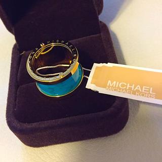 マイケルコース(Michael Kors)のMichael Korsターコイズリング(リング(指輪))