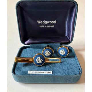 ウェッジウッド(WEDGWOOD)の●WEDGWOOD ウェッジウッド/ネクタイピン×カフスボタンセット 船(カフリンクス)