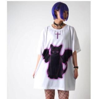 フーガ(FUGA)のTRAVAS TOKYO Black cat devil BIG Tee 黒猫(Tシャツ/カットソー(半袖/袖なし))