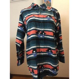 ロデオクラウンズワイドボウル(RODEO CROWNS WIDE BOWL)のRCWBビッグシルエットシャツ(シャツ/ブラウス(長袖/七分))
