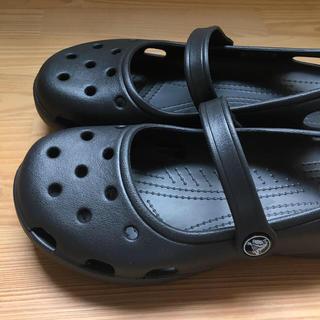 crocs - crocs サンダル W7