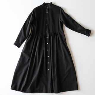 YAECA - アーツ&サイエンス ピンタックシャツドレス